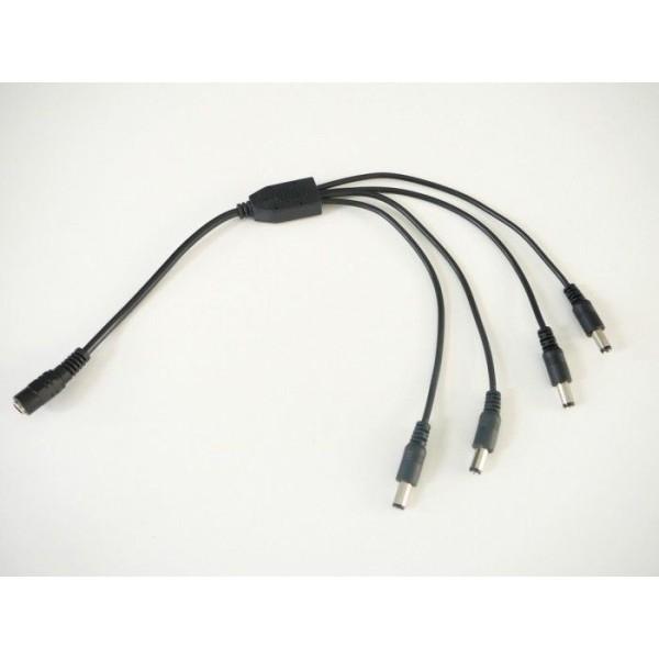 Koaxiálny kábel RG 6-32/BK medený