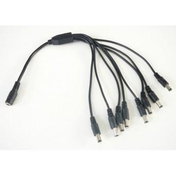 Kábel UTP 8P8C-8P8C 0,5m Cu